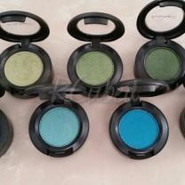 Greens/Teals (Top, L-R): Juxt, Swimming, Humid (Bottom, L-R): Blue Absinthe, Shimmermoss, Cool Heat, Parrot